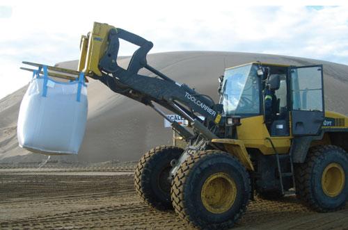 loader mining