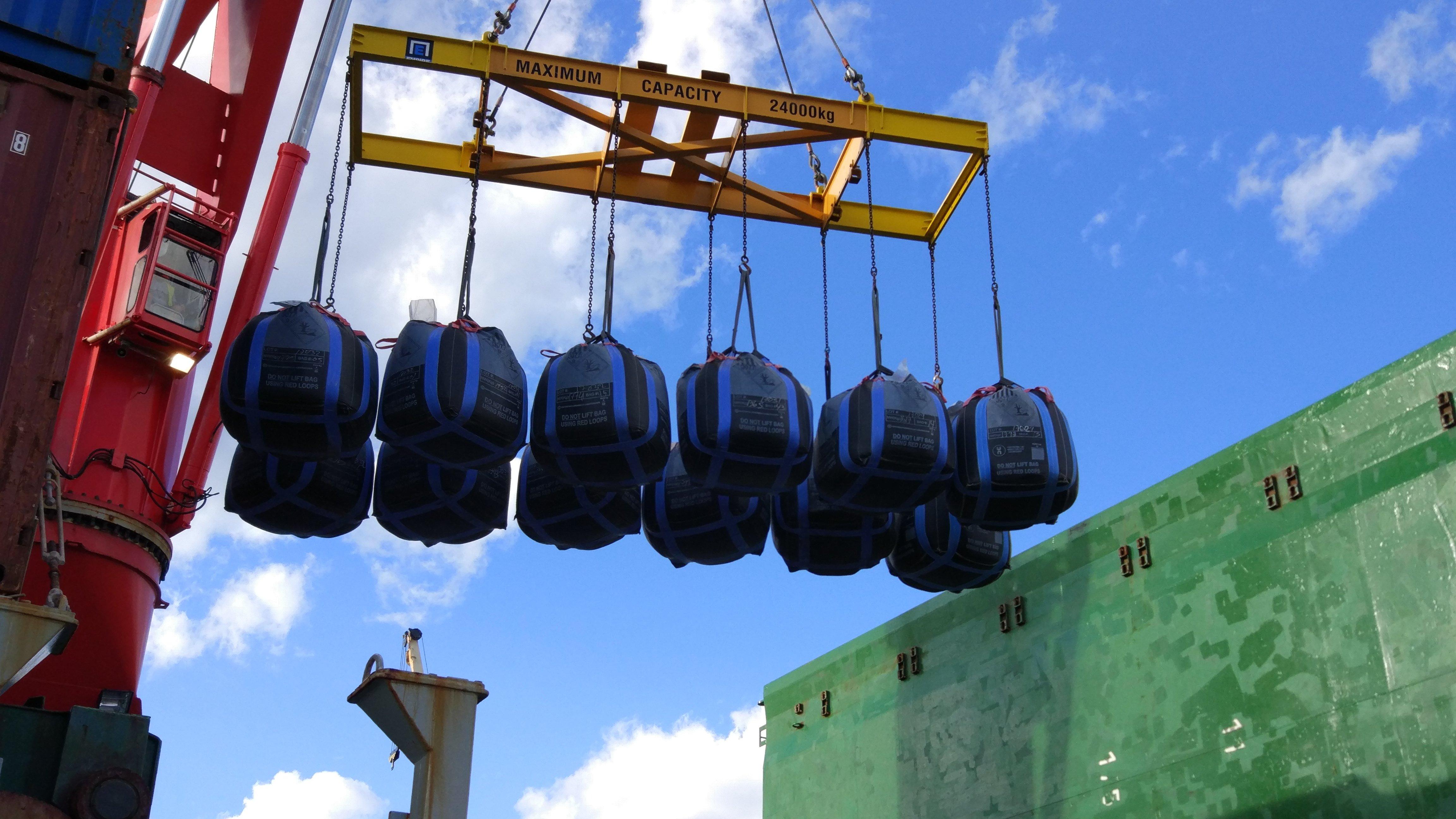 Bulk bags for export