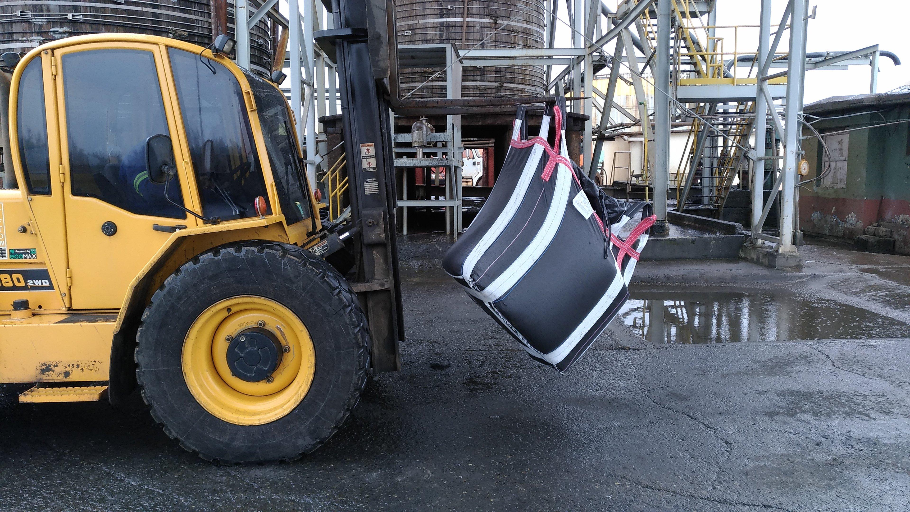 High strength bulk bags