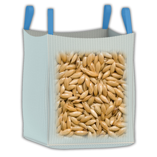 1000 kg ag bulk bag for shipping and strorage of fetilizer, grain, seeds, pulses and more.